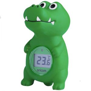 02SCR Digital Bath and Room Thermometer