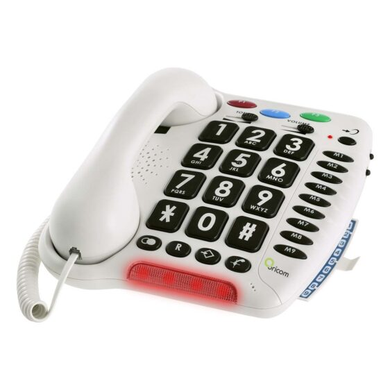 Care100 Amplified Big Button Phone