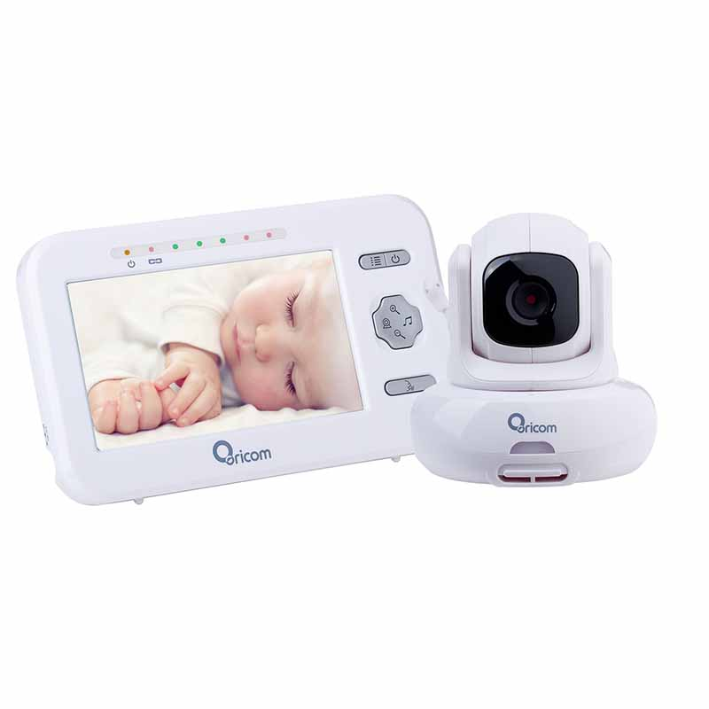 buy an oricom secure850 4 3 digital video baby monitor with pan rh oricom com au Oricom Canada Oricom Cordless Phone