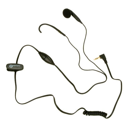 CLHOOK5 1 Ear Hook 1 Ear Piece 2.5mm Jack with Mic