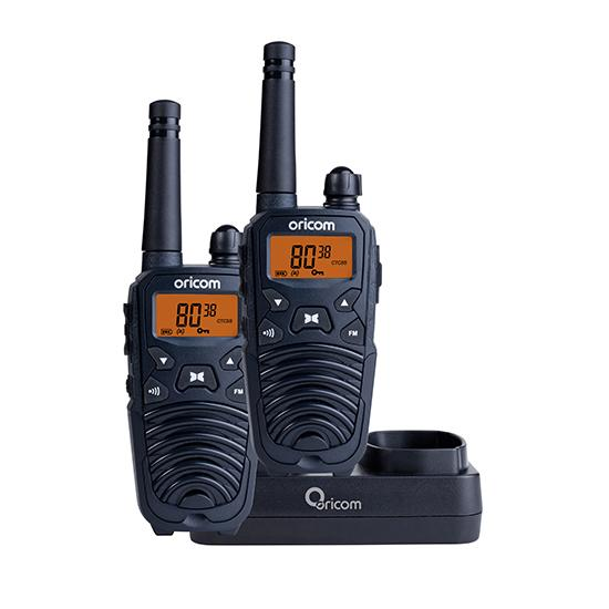 UHF2190 2 watt Hand Held UHF CB Radio Twin Pack