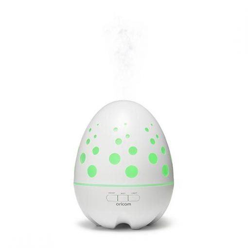 Aroma Diffuser AD100_GREEN WITH_STEAM