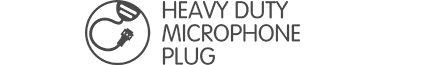 Heavy Duty Mic Plug