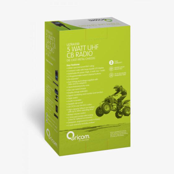 Oricom ULTRA550-1C Gift Box Mockup Back