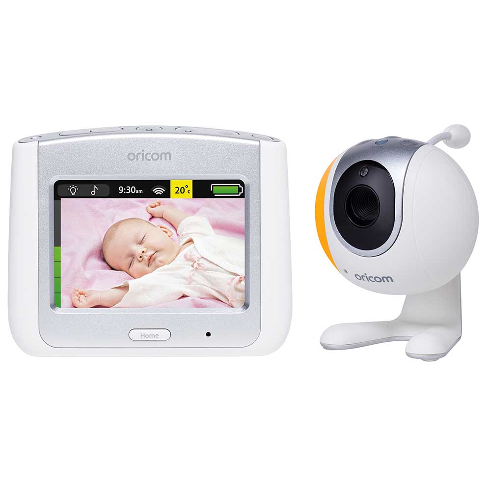 Buy an Oricom Secure860 Touchscreen Video Monitor (Silver) Online in Australia