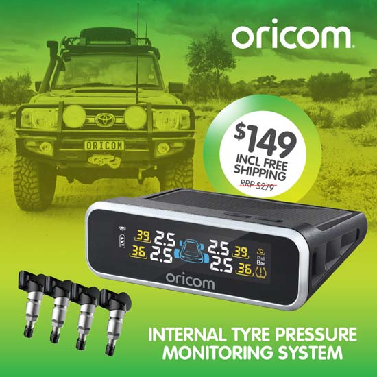 Oricom TPS9i Internal Tyre Pressure Monitoring System