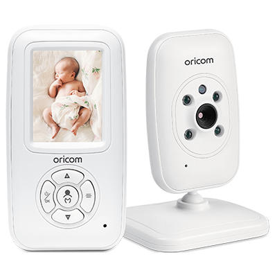 Secure715 2.4″ Digital Video Baby Monitor