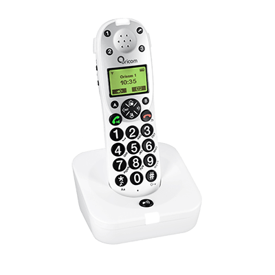 Oricom Amplified Cordless Phone for Sight and Hearing Impaired