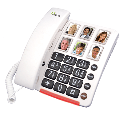 Care80 Amplified Phone with Picture Dialling