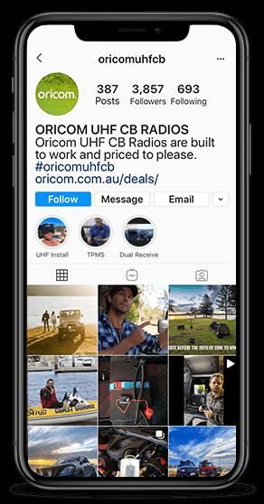 MOBILE Oricom UHF CB