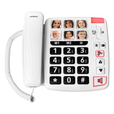 CARE80S Big Button Amplified Speakerphone