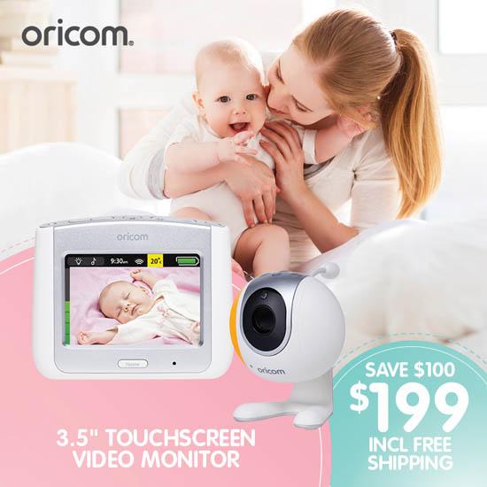 Oricom Baby SC860SV Touchscreen Video Monitor