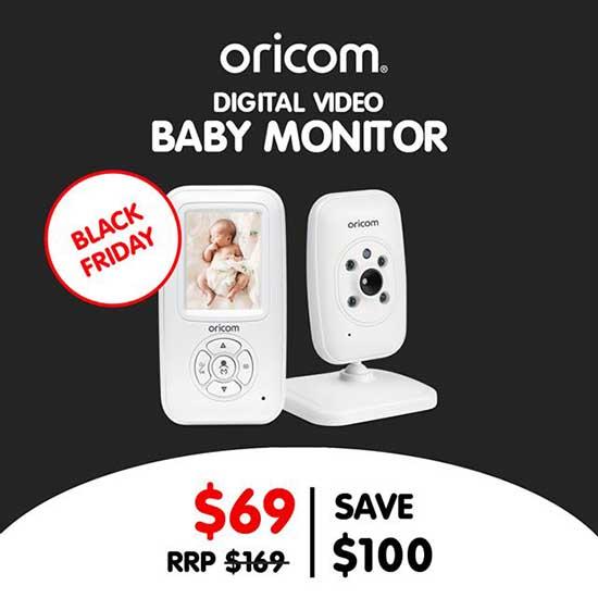 Oricom SC715 Baby Monitor Black Friday Deal