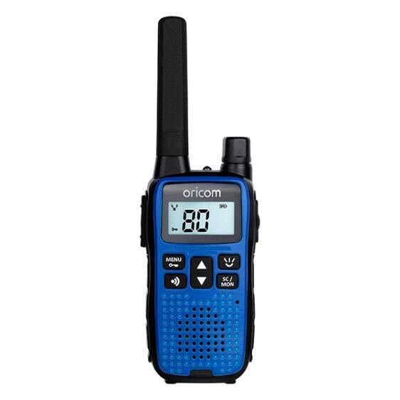 Oricom UHF2190K 2 Watt Handheld UHF CB Radio Twin Pack