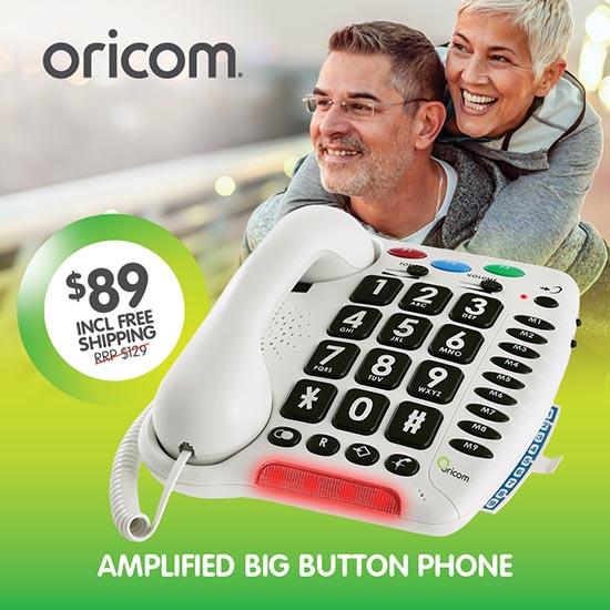 Oricom Care100 Big Button Phone