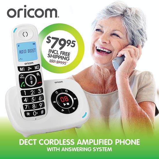 Oricom Care820 big button cordless phone
