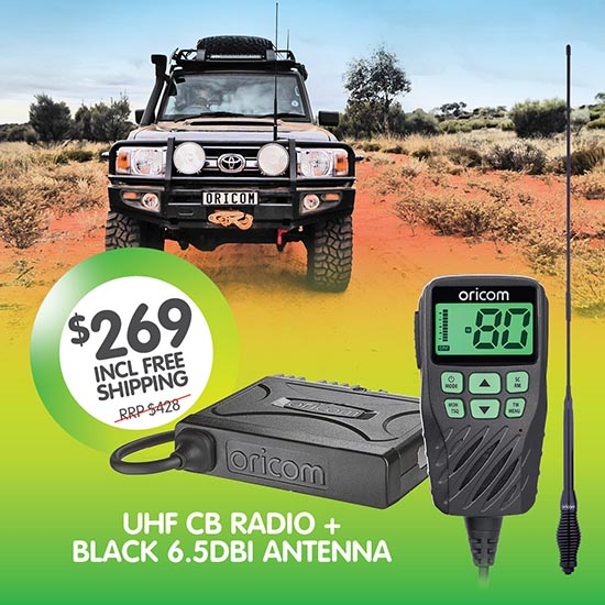 Oricom UHF360TP UHF CB Radio + Antenna