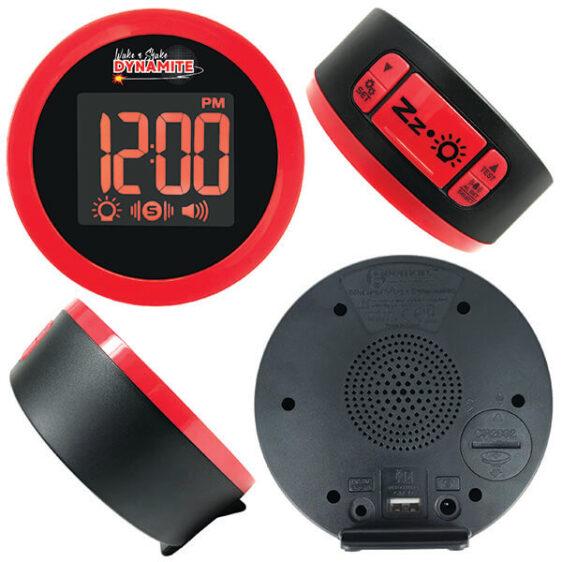 WNS80 Wake 'N' Shake Loud Alarm Clock with Shaker 1