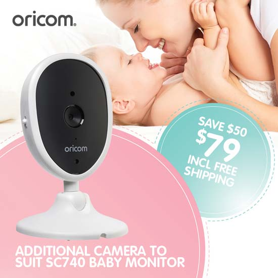 Oricom CU740 Additional Camera for Baby Monitor