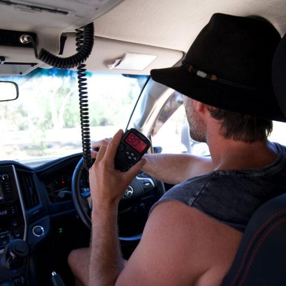 : DTX4200X Premium Dual Receive Controller Speaker Mic UHF CB Radio