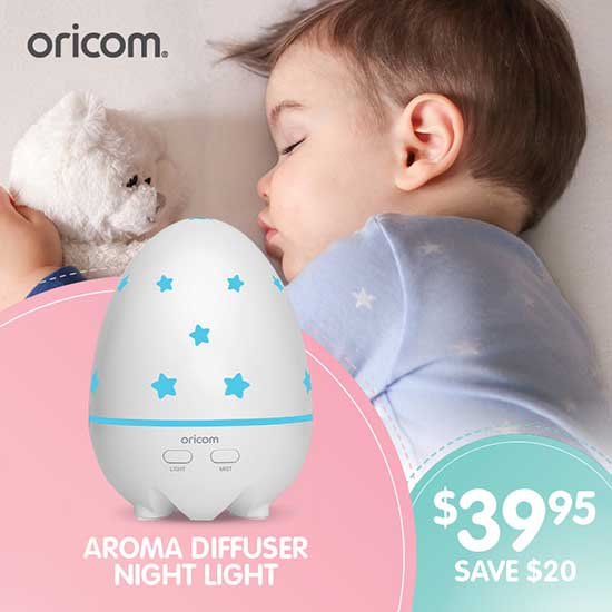 Oricom Baby AD50 Aroma Diffuser Deal