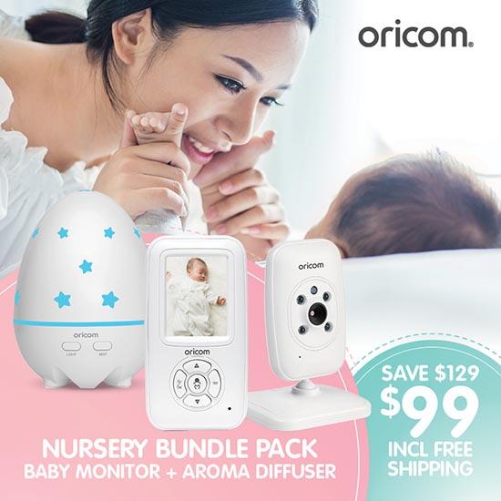 Oricom SC715VPAD50 Nursery Bundle Pack