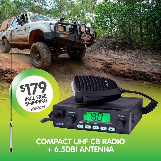 Oricom UHF CB Radio UHF025VP