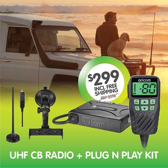 Oricom UHF360PNP UHF CB Radio Kit