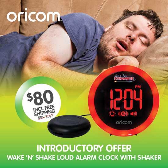Oricom WNS80 Vibrating Alarm