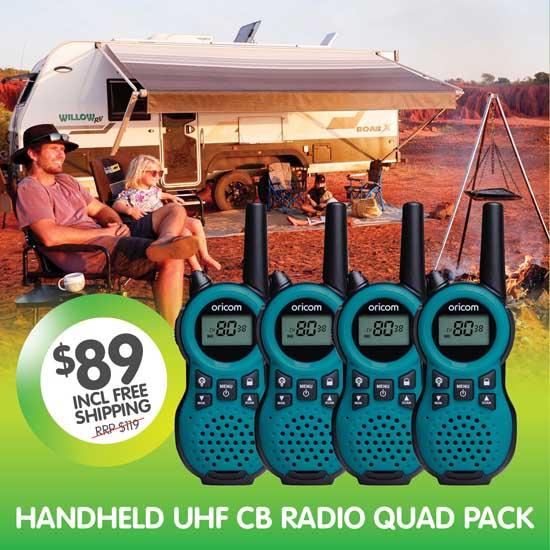 Oricom PMR795BL Quad CB Radio Special