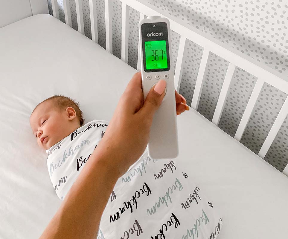 Oricom-infared-baby-thermometers