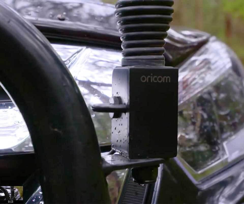 UHF CB Radio Brackets