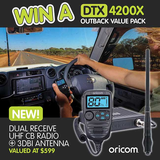 Oricom DTX4200X Giveaway Competition square
