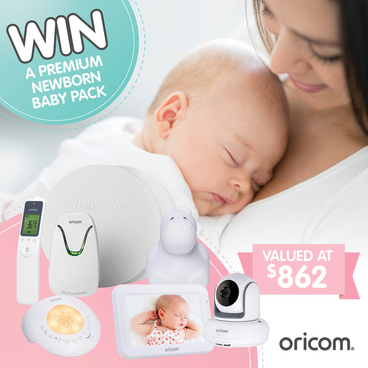 Oricom Baby Competition - Premium Newborn Baby
