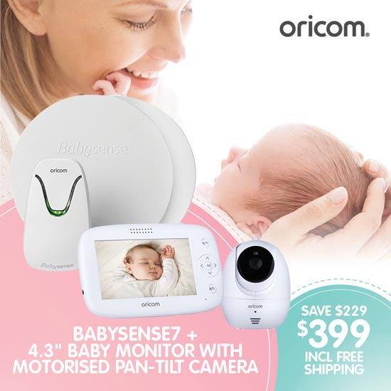 Oricom Baby Monitor Value Pack BS7VPSC745